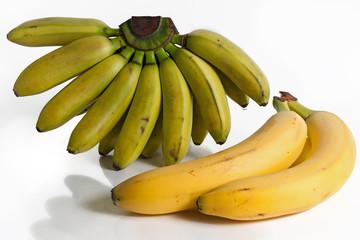 casco di banane tropicali