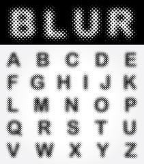 blur alpha