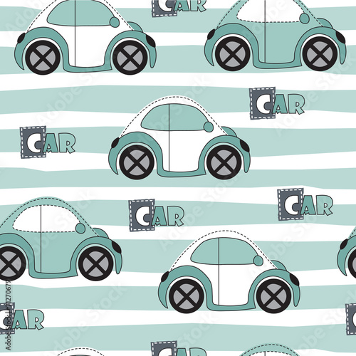 car pattern vector illustration - 71270679