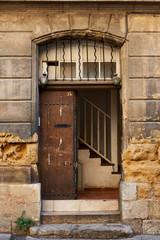 Old door in Aix en Provence, France
