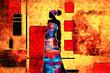 african motive ethnic retro vintage - 71272202