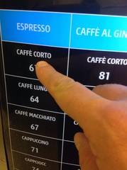 Distributore automatico di bevande calde