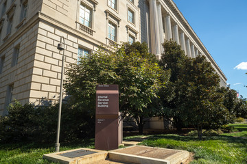 Internal Revenue Service in Washington D.C.
