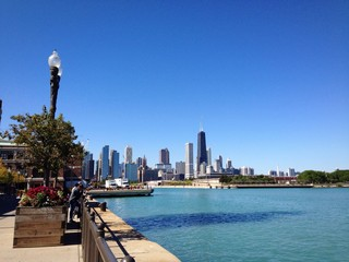 Chicago molo lago Michigan