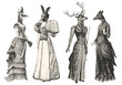 Women with animal heads - 71273844