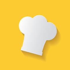 Hat cooking symbol,clean vector