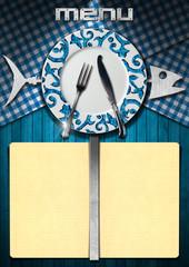 Fish Menu Design