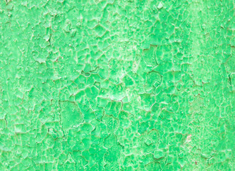 green background with old paint