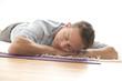 canvas print picture - Mann beim Entspannen