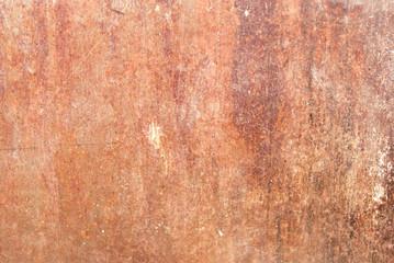 brown rusty metal