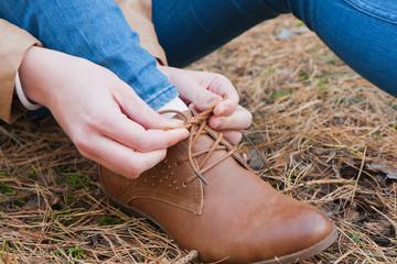 Kobieta i buty