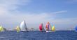 Leinwandbild Motiv sailboat race