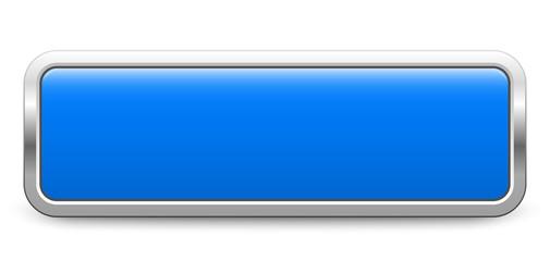 Long rectangular template - blue metallic button