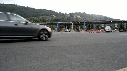 Caselli pedaggio Autostrada, Trasporti traffico