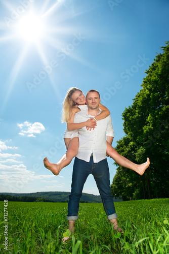 canvas print picture junges paar