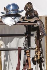 Ritterrüstung Detail