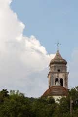 Eglise et mauvais temps