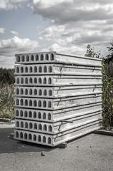 Concrete board of construction