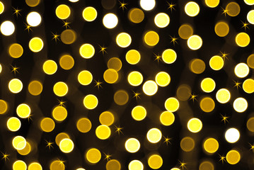 bokeh and stars background