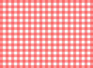 Easy tilable (you see 4 tiles) red gingham repeat pattern