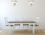 Fototapety Dining-room interior.