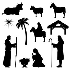 Christmas Nativity Icons-Shepherd