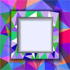 Abstract polygonal