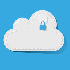 Cloud Computing Rechnen in der Wolke SAFE rot