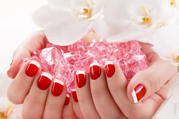 beautiful manicure nail salon