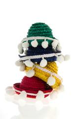 Stacked sombreros