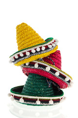 Stacked sombreros