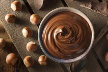 """Постер, картина, фотообои """"Homemade Chocolate Hazelnut Spread"""""""