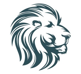 lion head cool design
