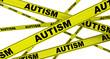 Постер, плакат: Аутизм autism Желтая оградительная лента