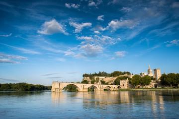 The Pont Saint-Bénezet, also known as the Pont d'Avignon, is a