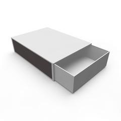 Template - empty matchbox