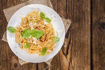 Pasta with Tomato Pesto