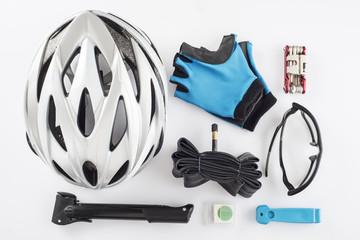 Protección y repuestos y herramientas para ciclismo de seguridad
