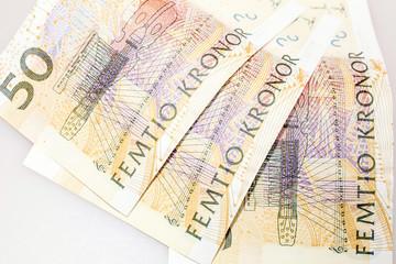 schwedische Geldscheine - Wert 50 Kronen