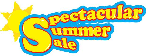 Spectacular summer sale