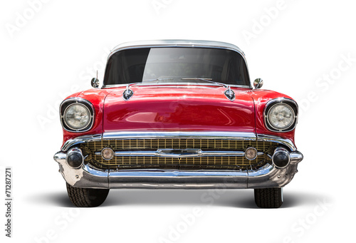 Tuinposter Vintage cars Ami_2