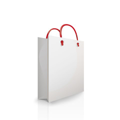 Vector paper bag, illustration package