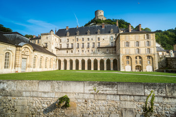 Chateau at La Roche Guyon, Val d'Oise, France