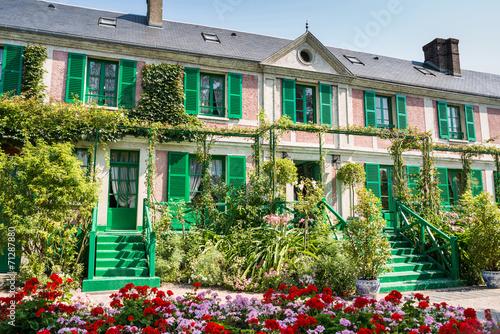 Papiers peints Europe Méditérranéenne The Clos Normand house of Claude Monet garden Famous French impr