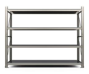 the metal shelf