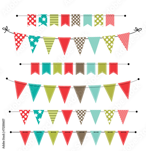 Christmas banner, bunting or flags - 71288607