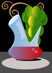 Porrón de vino