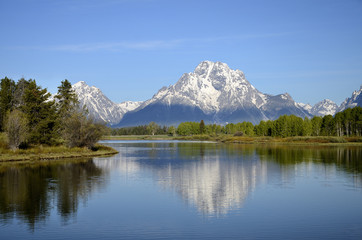 Snake River Outlook - Oxbow Bend, Wyoming - USA