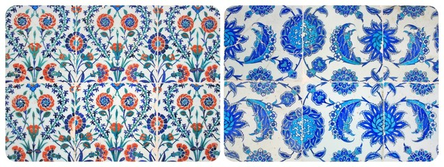 Old ,OriginalTurkish Wall Tiles,Collage
