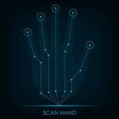 Scan Hand.